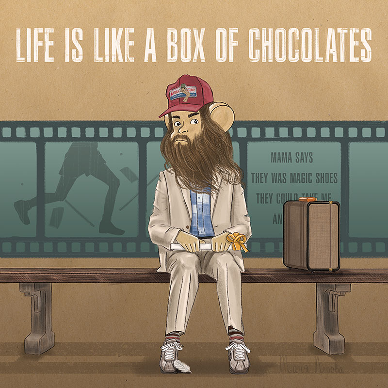 Life is like a box of chocolates. Вар.2